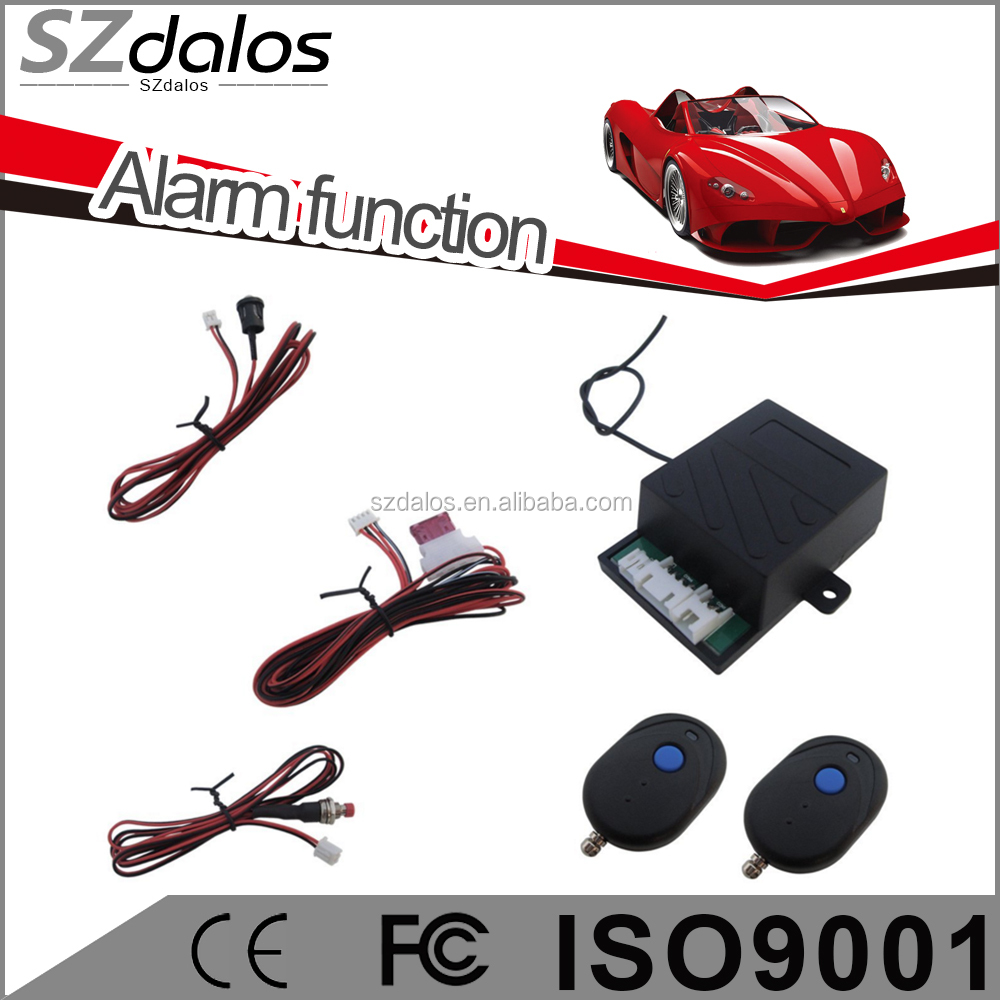 One Way anti-theft cut off engine function car alarm immobilizer