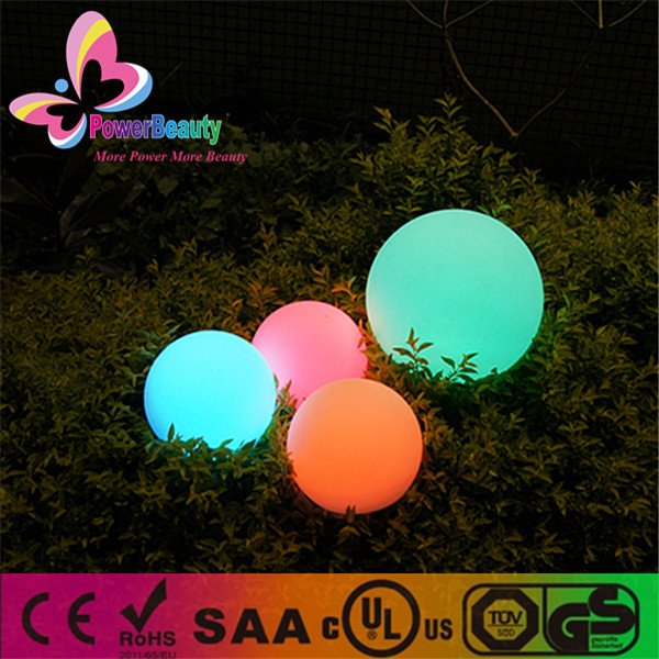 GuangDong solar power ball decor powerbeauty sphere garden globe lights