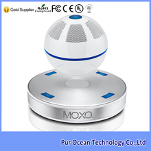 Latest Mini Active Type Portable Combination Speaker MOXO Magnetic Levitating Bluetooth 4.1 Speaker with NFC Function