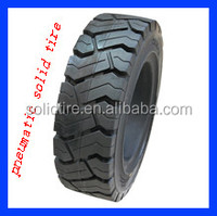 250-15 3-layer rubber forklift solid tires