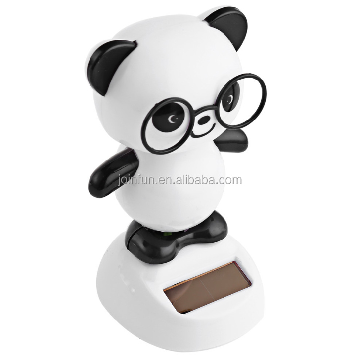 custom 3D bobblehead , OEM plastic bobble head,cute cartoon panda bobblehead
