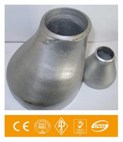 TP316 Nipple Stainless Steel Pipe Fittings Reducer