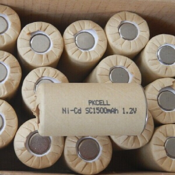 High Quality Batteries 1.2V Ni Cd Sc 1500Mah Rechargeable Battery