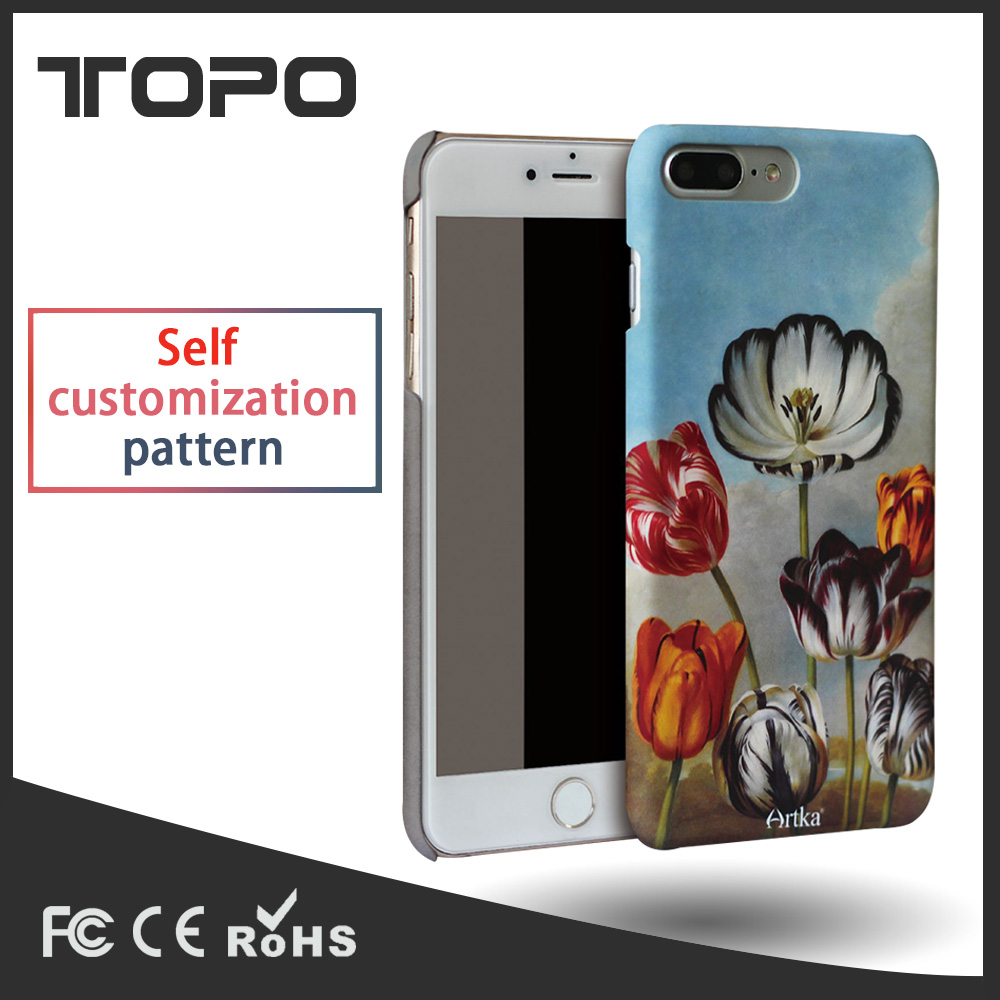 OEM 3D UV print Personalised custom design hard pc tpu silicon phone case cover shell for iphone 5 6 6S 7 8 plus