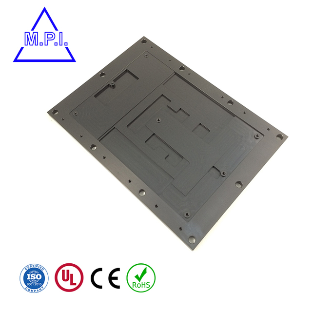 Elegant Metal Auto Chassis Part And Face Plate For Audio Mixer Amplifier DAC