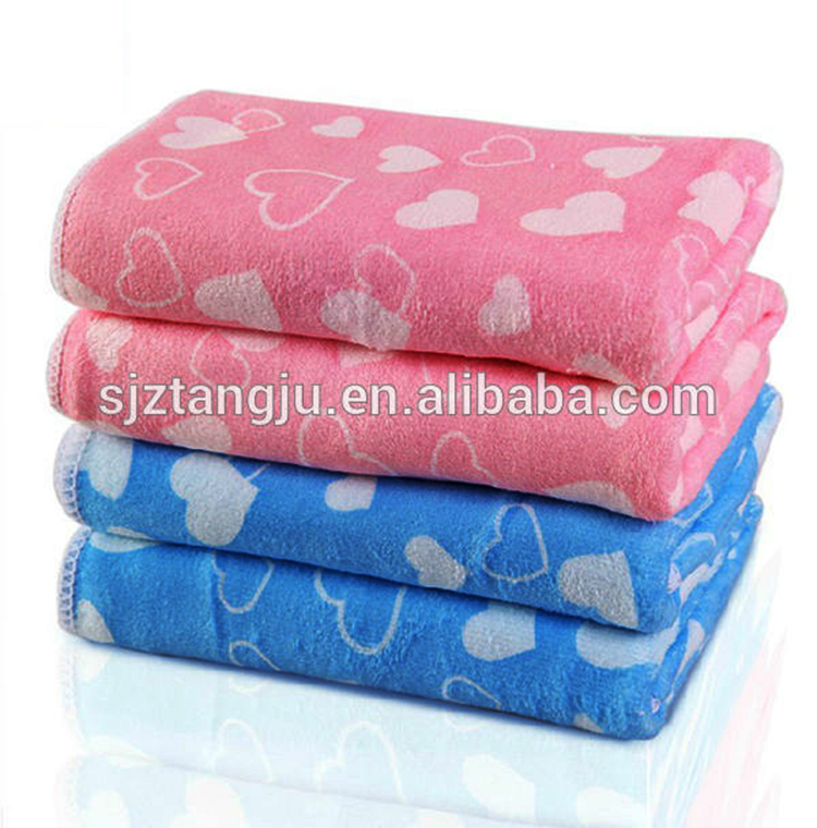 Microfiber bath towel face towel baby towel
