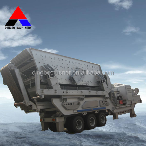 Widely Used Mobile Crushing And Screening Plant