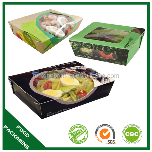to go salad container,cardboard salad box,packaging for salads