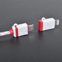 Manufacture Wholesale 2 In 1 USB Cable For Android Mobile Phone Etc gsy-i5c