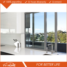 YY HOME soundproof fashionable price of aluminium sliding window