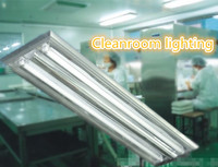 t8 18watts fluorescent tube light / cleanroom lighting fixture / office ceiling light fitting