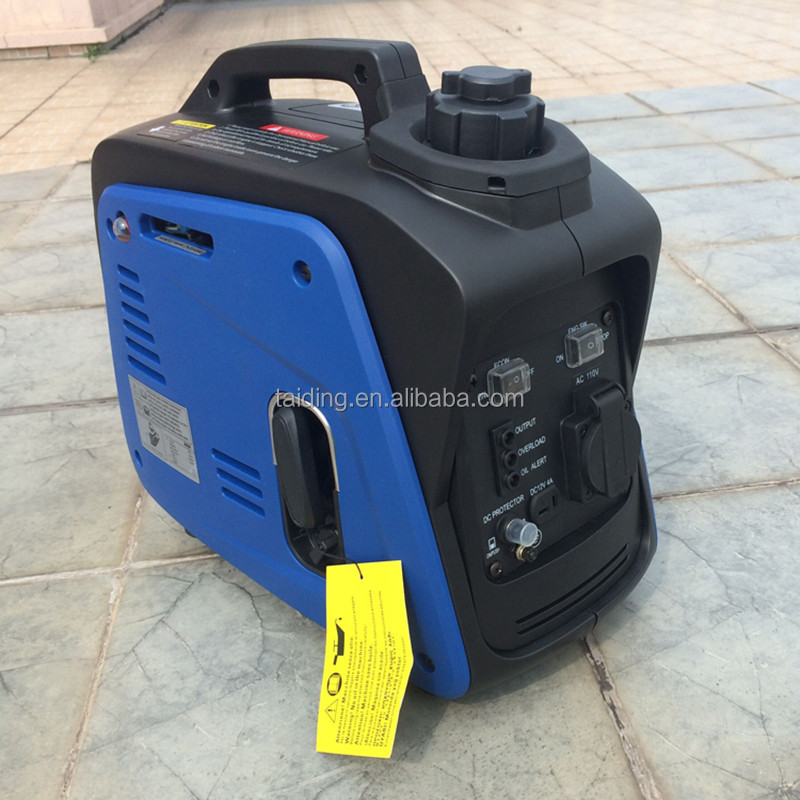 800W High quality output electricity small camping generator/mini generator