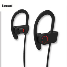 2017 High Quality Earphone Sports Earbuds Stereo sweatproof Bluetooth wireless Headset Headphone U8 for moible