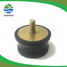 Cylindrical Rubber Dampers for Machines Equipment Shock Absorption