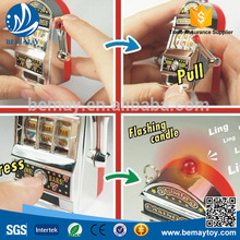 Mini Funny key chain promotional toy slot machine gift toy promotion toy