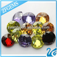 factory direct sale zircon decoration color gems