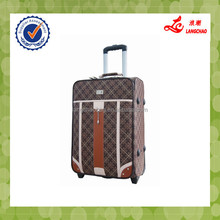 China Factory Trolley Bag Leather Laptop Travel Luggage