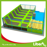 Liben ASTM Approved Used Indoor Commercial Children Trampoline
