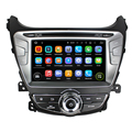 factory promotion quad core Android7.1.2 double din with 3G WIFI DVR Mirror link car dvd gps for Elantra / Avante / I35 2012
