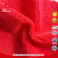 Tearresistant Anti-pilling Softness Rose Fleece Fabric