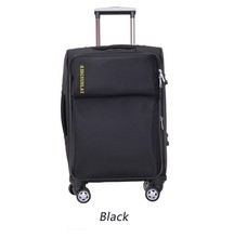 china supplier hot sale soft nylon 20 inch trolley suitcase luggage with wheel