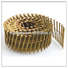 Annular shank coil nails (manufacturer)