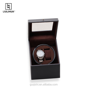 Custom high end watch box High quality fashion watch gift box can retail