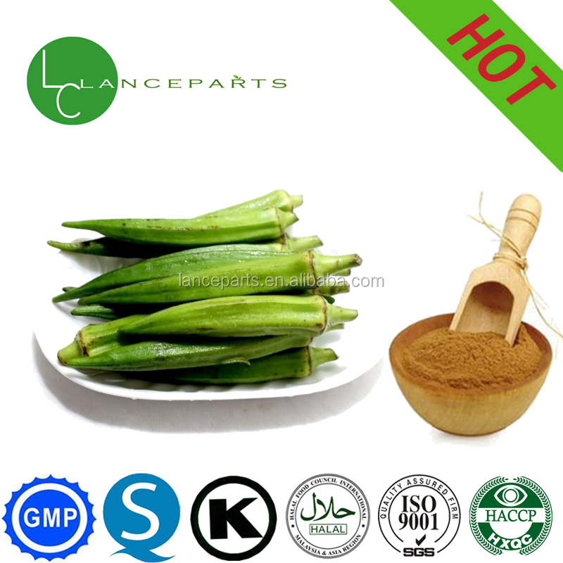wholesale pure herbal extract high quality Okra powder