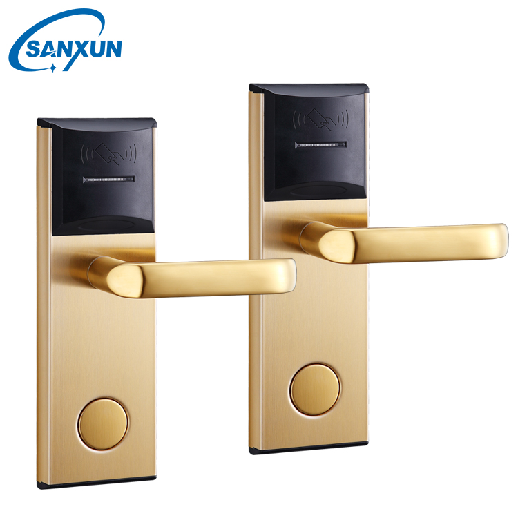 Professional Hotel Lock Manufacturer Offers Swipe Cards and Rfid Card Hotel Door Lock