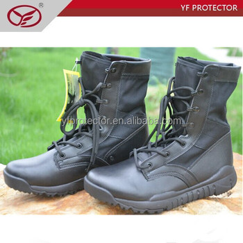 anti-abrasion military boots/waterproof boots/army tactical boots