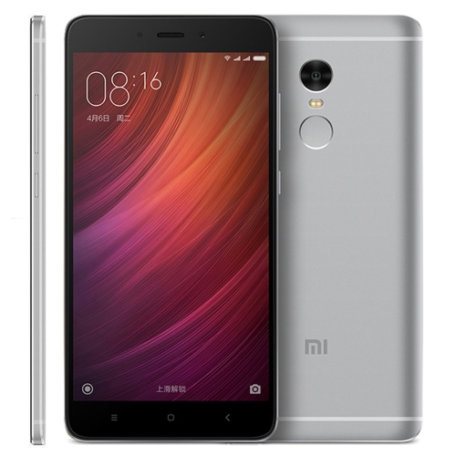 In stock Original Xiaomi Redmi Note 4 16GB 32GB 64GB mobile phone Network: 4G 5.5 inch MIUI 8.0 RAM: 3GB smart phone smartphone