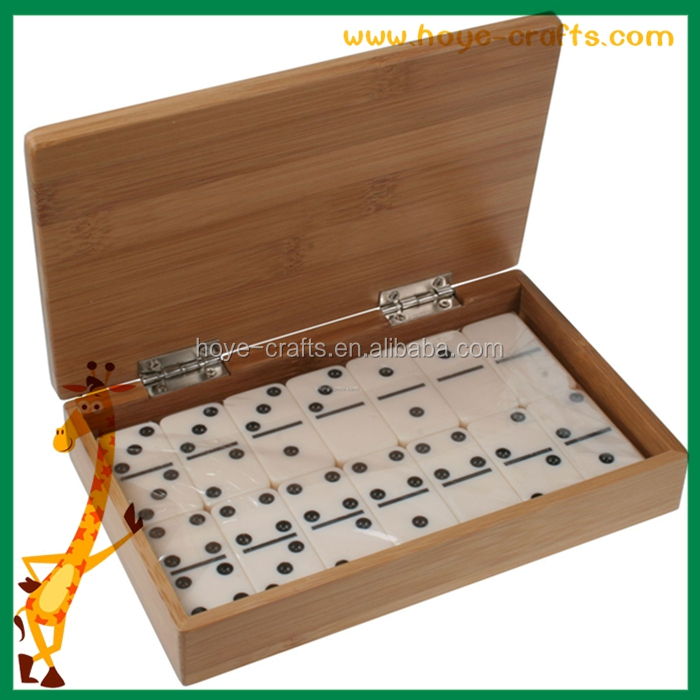 natural wooden box for dice Wooden Box with Lid