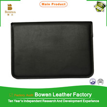 customize PU PVC leather file covers
