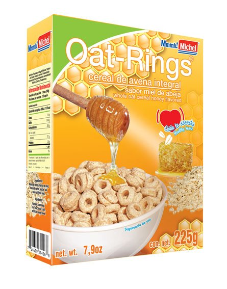 Oat Rings Honey Flavored