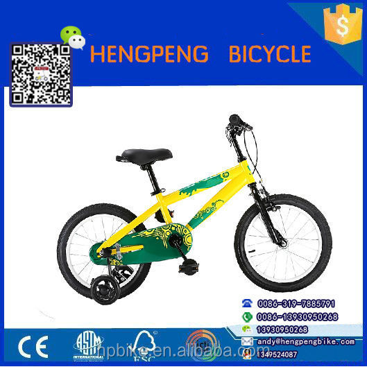 Lightweight children mountain bike / kids BMX bicycle / 20 inch bike training wheels