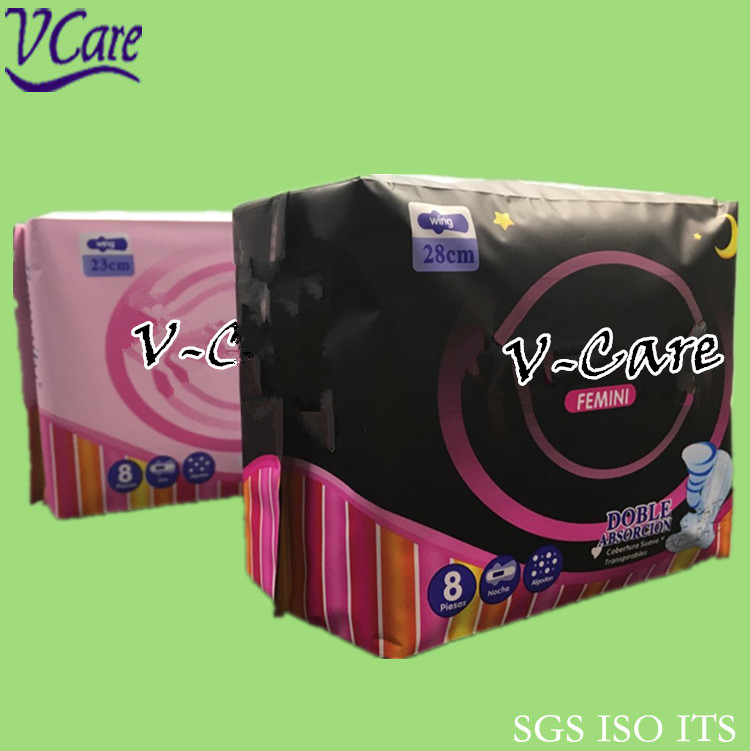 New design high quality Dry comfortable soft surface herbal sanitary Pad