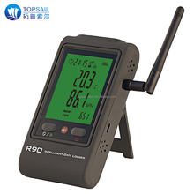 Remote temperature humidity data logger with mail alert