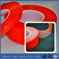 19mm X 50M Clear Strong Polyester Plastic Clear Sticky Adhesive Tape Heat-Resistant Transparent
