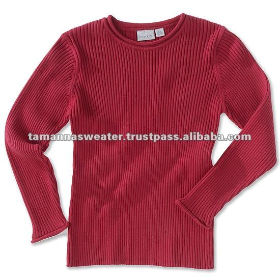 Acrylic Men's & Women's Pullover Sweater