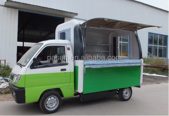 mobile battery food cart , food truck , food cart