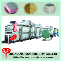 PU sandwich panel building machine