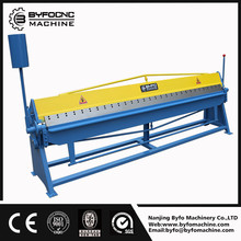 Nanjing BYFO manual plate metals bender,Pneumatic plate bender,hydraulic metal plate bender for sale