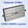 27dBm 75dB Gain gsm 850 wide band cell booster 27dBm CDMA850mhz Repeater