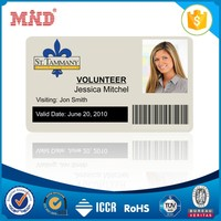 MDC1029 pvc smart rfid card school id card card for student