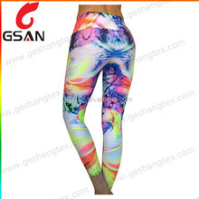 Women's professional sublimation customize yoga pants
