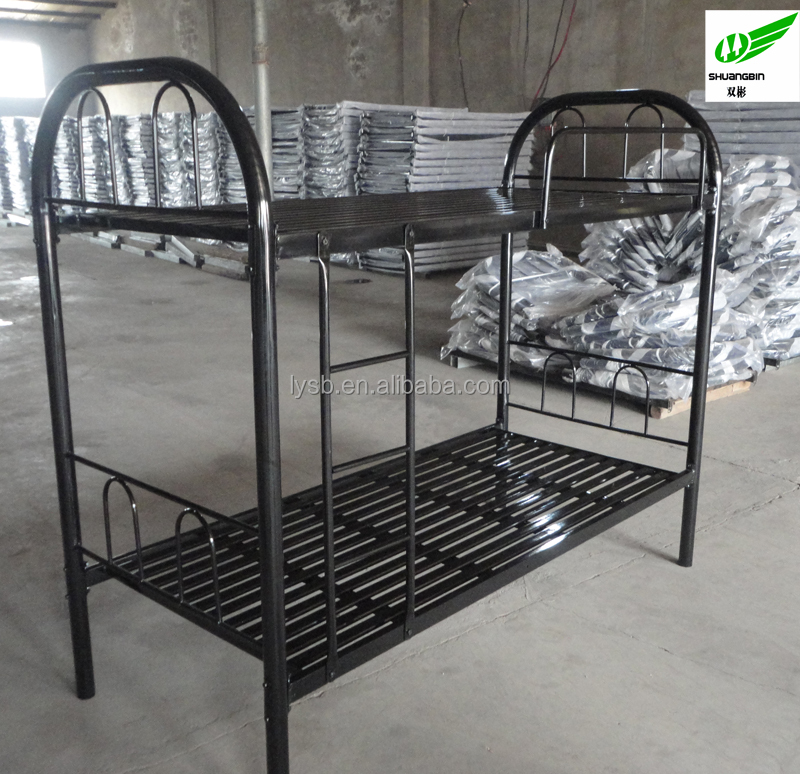 Double Jail and prison heavy duty metal bunk bed frame