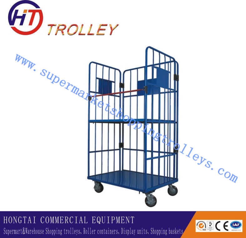 Industrial Wheeled Transport Cage Used Roll off Containers for Sale