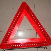 Long distance caution warning safety reflective triangle, Foldable auto triangle set