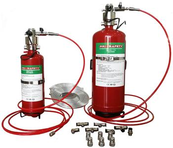 Indirect FM200 Automatic Fire Suppression System for Electric Equipment