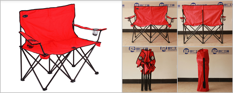 3 Seater Folding Chair Bench Outdoor Sporting Goods Camping Furniture New